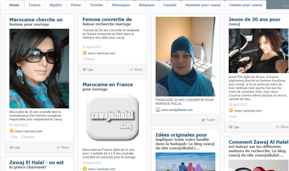 Je cherche une femme divorcée pour mariage en algerie