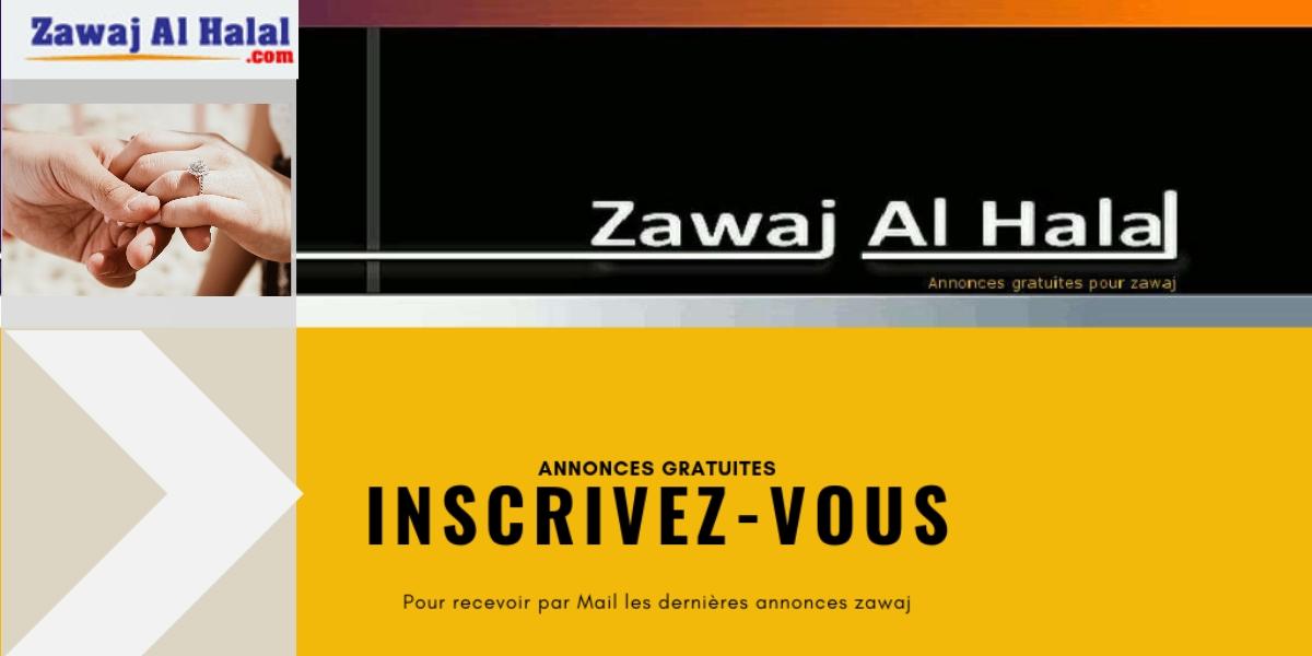 Abonnez-vous gratuitement aux annonces zawaj