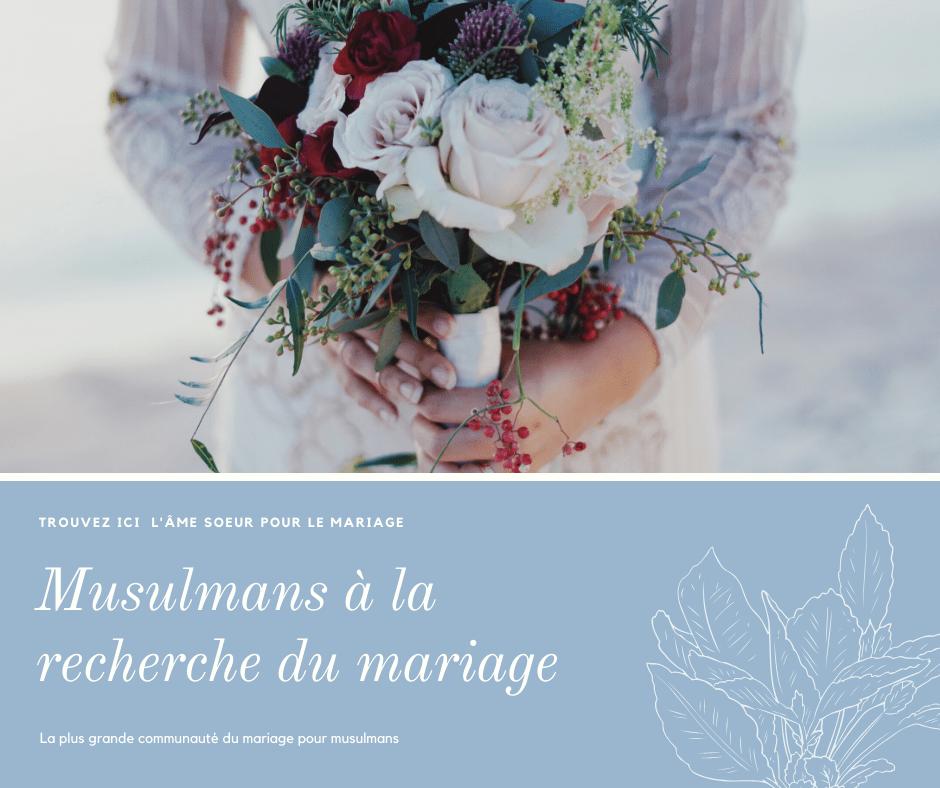 cherche ame soeur pour mariage